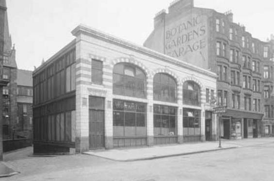 Botanic gardens garage glasgow the twentieth century for The garage glasgow