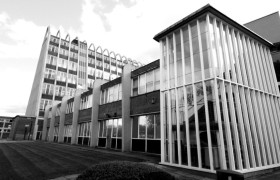 Domestic and Trades College, Manchester, side view