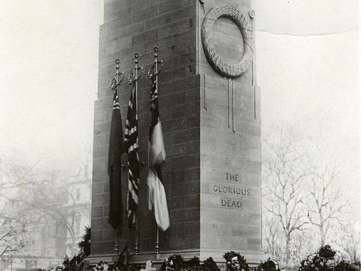 Cenotaph, Sir Edwin Lutyens, 1920