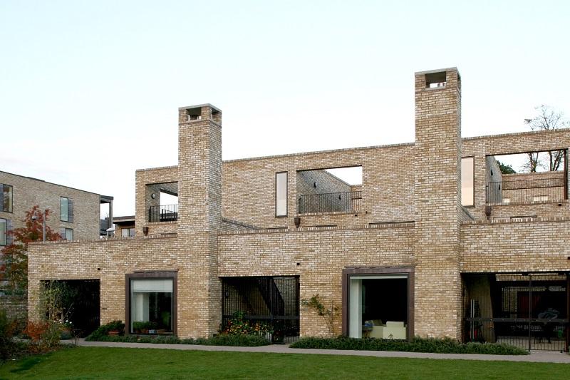 2008 accordia housing cambridge the twentieth century for Cambridge architecture