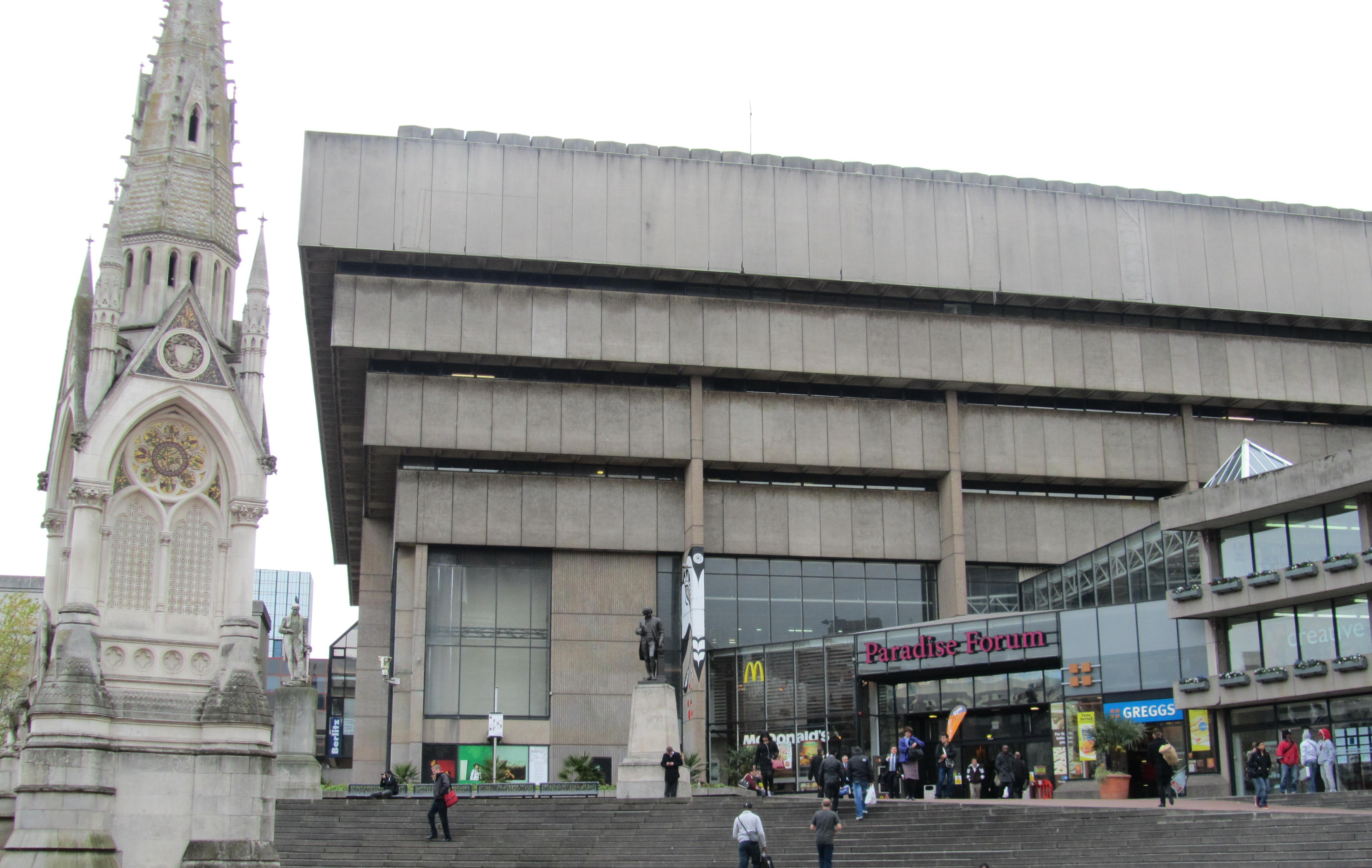 House Plans Magazine Birmingham Central Library The Twentieth Century Society