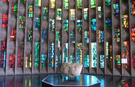 Stained Glass in Coventry Cathedral, Basil Spence