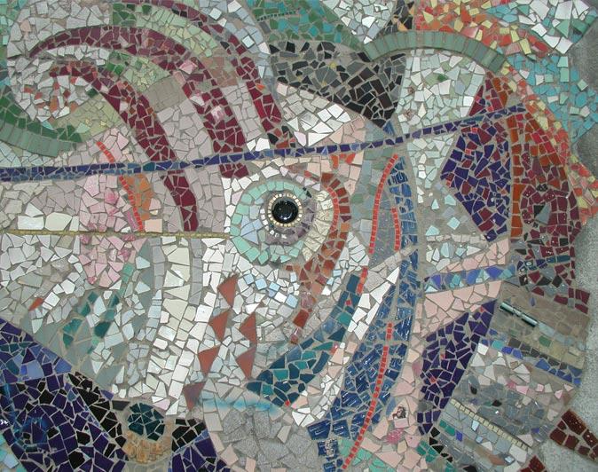 28 islington green mural semi abstract mosaic 1963 64 for Mural mosaic