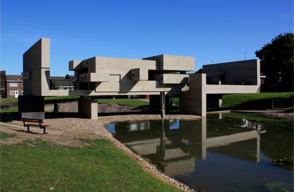 Apollo Pavillion, Peterlee, Designed by Victor Pasmore