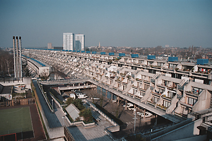Overview of Alexandra road estate in Camden