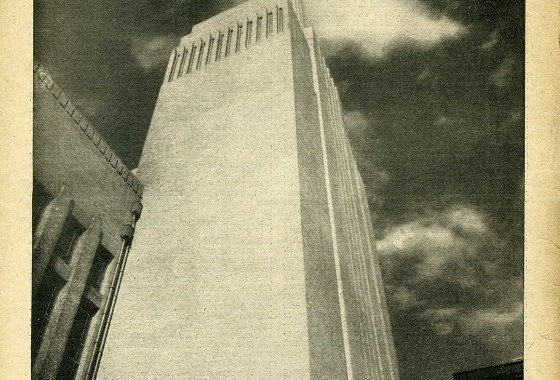 Battersea Power Station, chimney stack, Listener, 26 July 1933