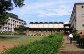 Mellanby Hall, hall of residence, dining Hall, University of Ibadan, Nigeria, Maxwell Fry and Jane Drew, 1958