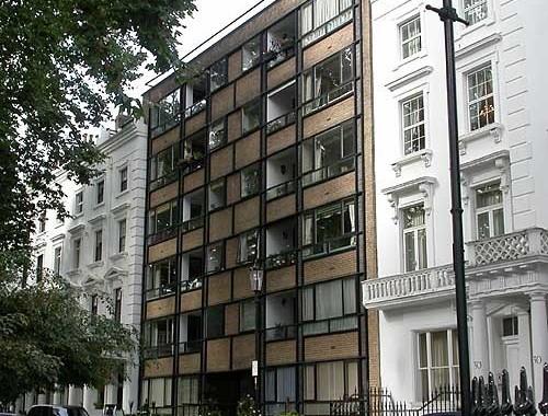 22-26 Ovington Square, London SW7, Walter Segal