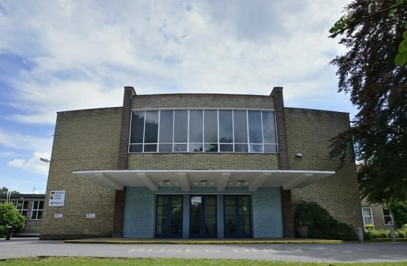 Impington Village College, Gropius Hall facade