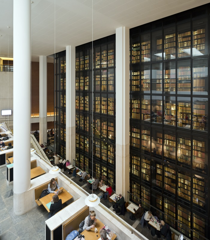 British Library Interior The Kings C Paul Grundy