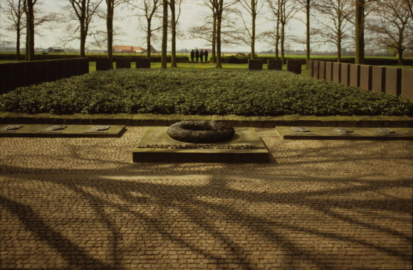 Langemark German Military Cemetery, Belgium, by Gavin Stamp
