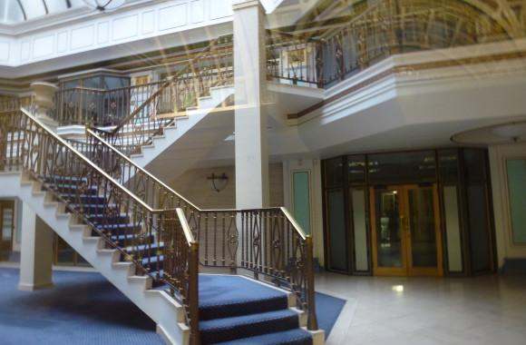 Staircase of Herbert Rowse's India Buildings