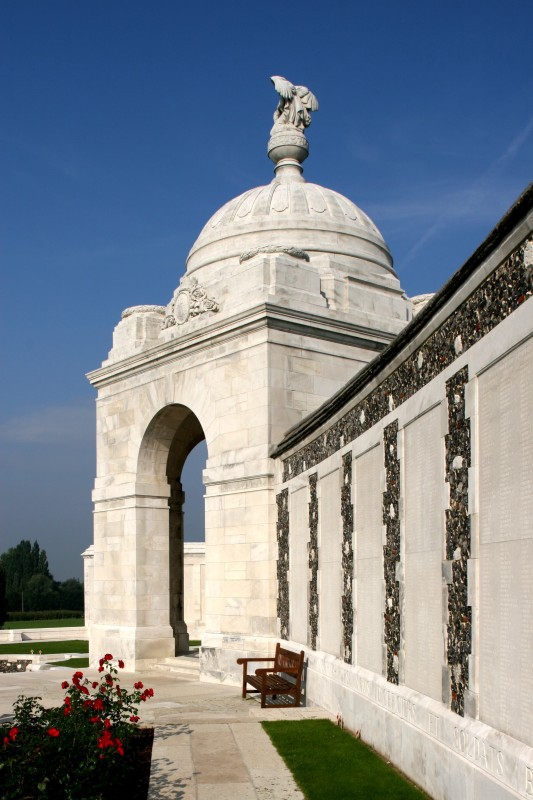 Belgium Tyne Cot Cemetery And Memorial Passchendaele