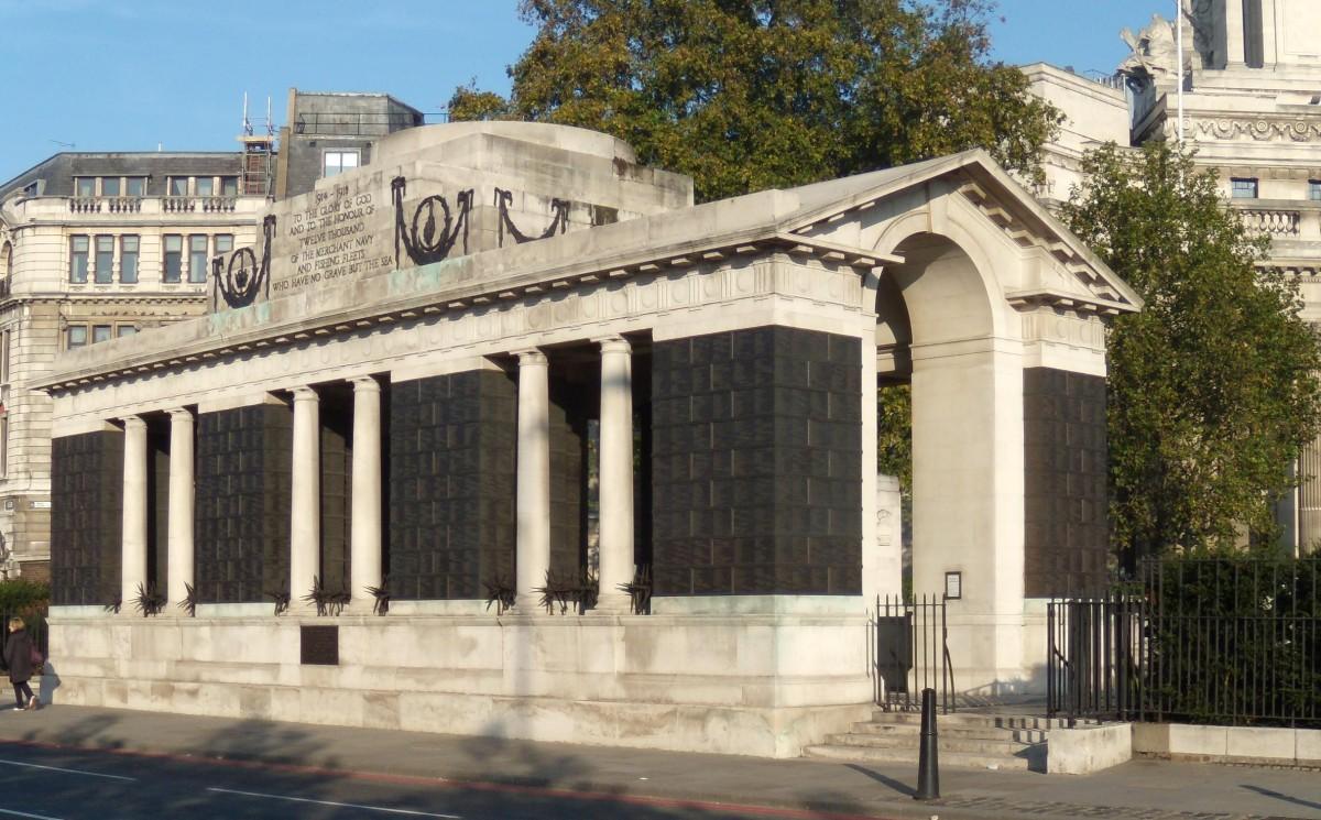 London Mercantile Marine Memorial Great War The