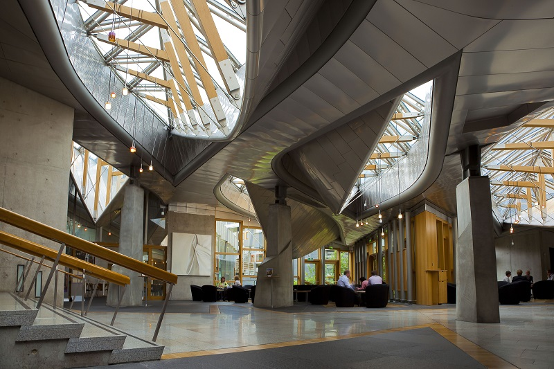 2004 Scottish Parliament Building Edinburgh The
