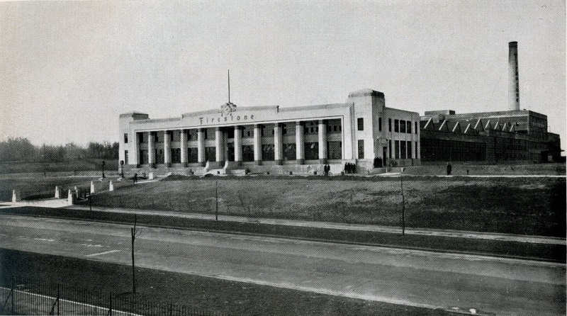 1928 Firestone Factory Brentford The Twentieth Century