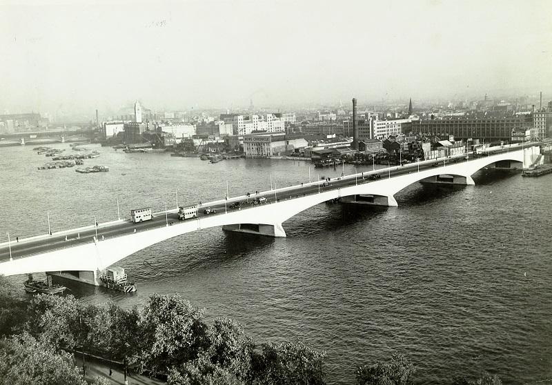 1945 Waterloo Bridge London The Twentieth Century Society