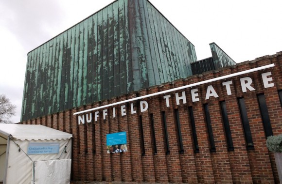Nuffield theatre, Southampton University, Sir Basil Spence