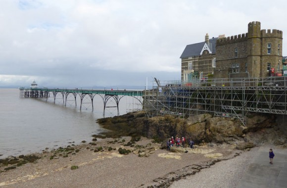 Clevedon Pier visitor entrance
