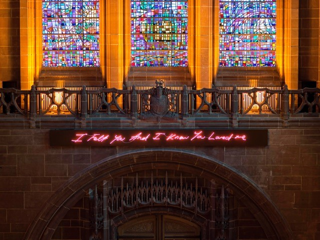 Tracey Emin, For you, 2008. Photo: Barry Hale