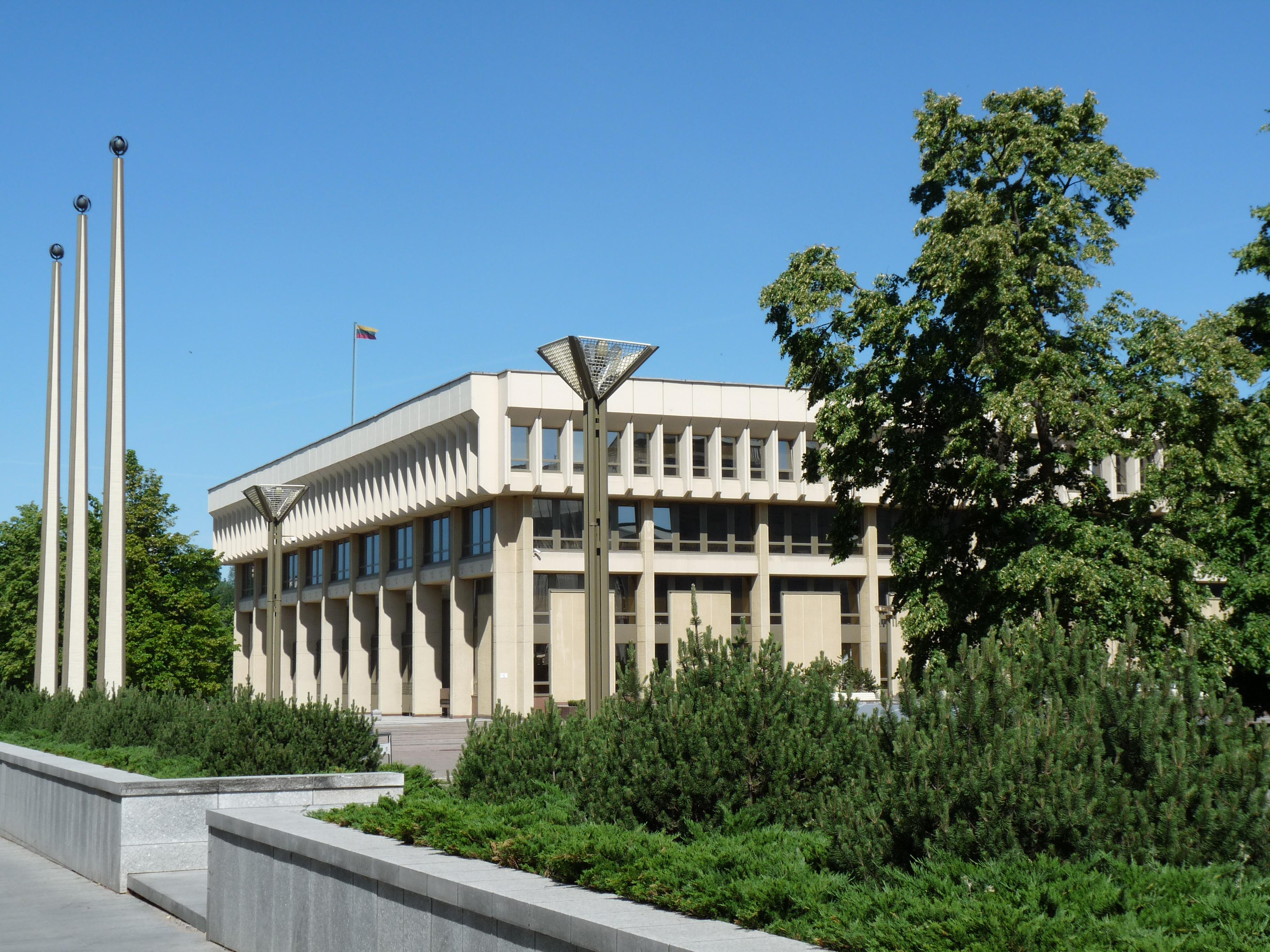 Vilnius Parliament Building