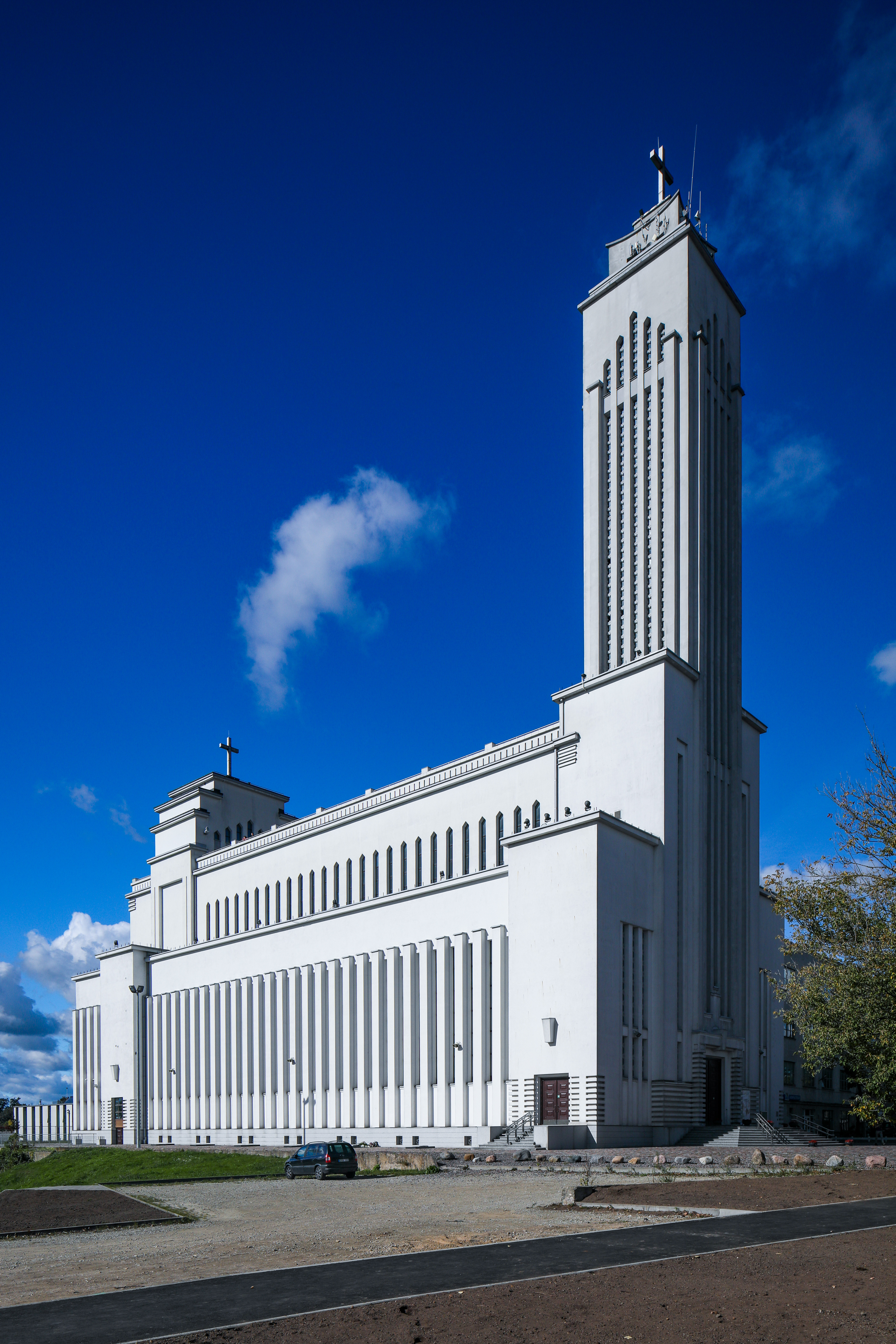 1940 - Karolis Reisonas - Resurrection Church, Kaunas, Lithuania (Restored by H. Zukauskas and A. Sprindys - 1990-2004) - 1933-40 (1)