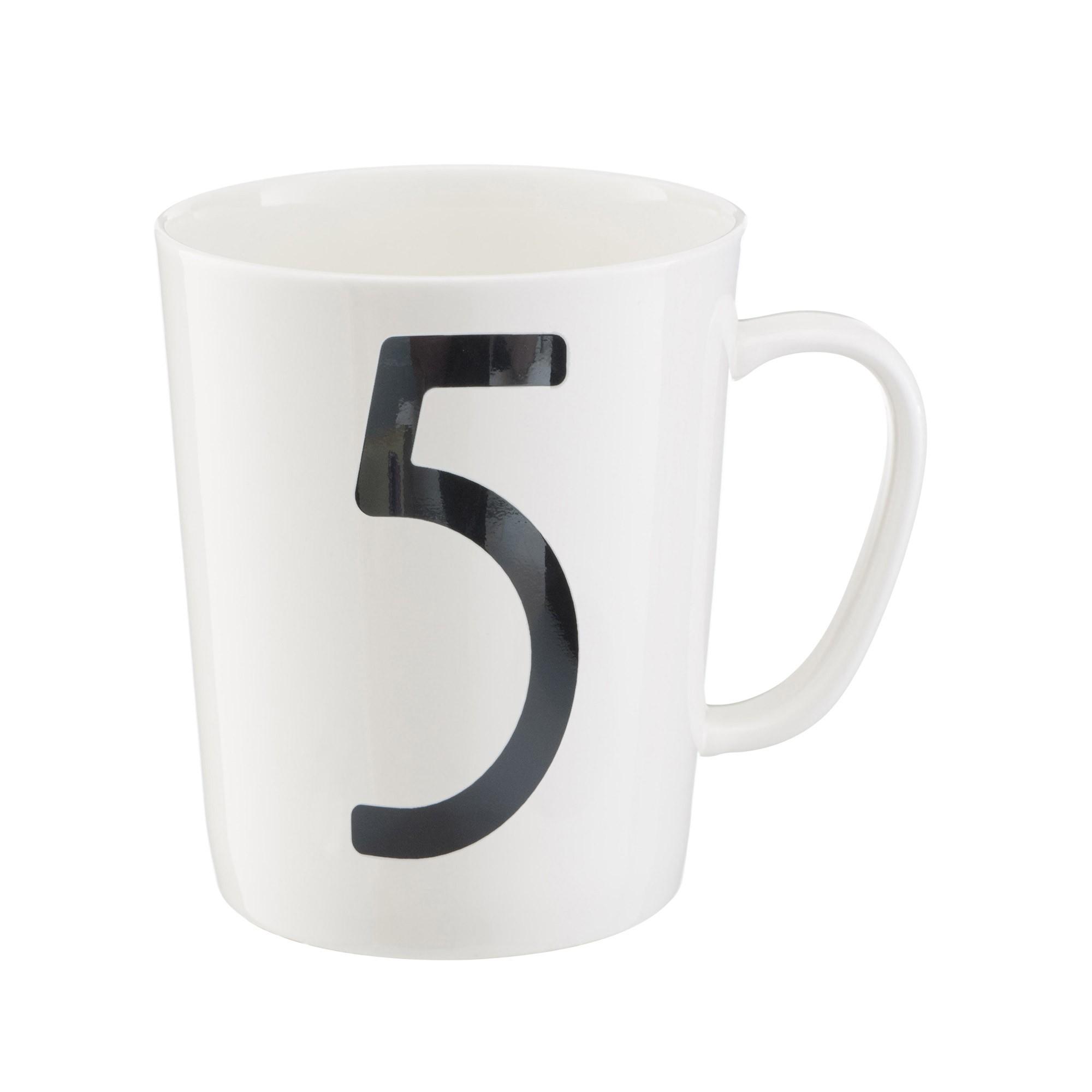 Isokon number mug, Skandium