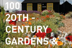 Cover of 100 20th-century Gardens and Landscapes