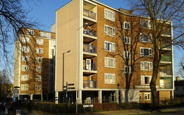 Ashburnham Court, Bedford by Max Lock & Partners, Front Elevation
