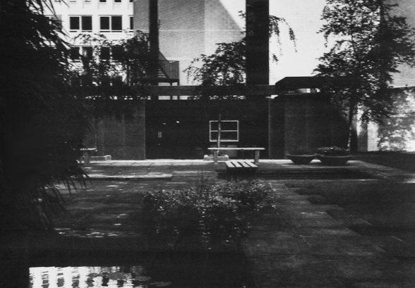 Bath Technical College Garden court