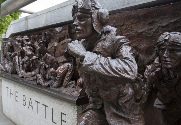 Battle of Britain Memorial, London Photo © Sarah J Duncan