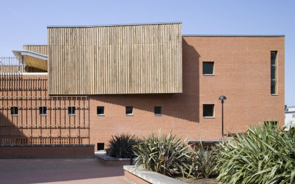 British Library Centre for Conservation Photo copyright Peter Durant