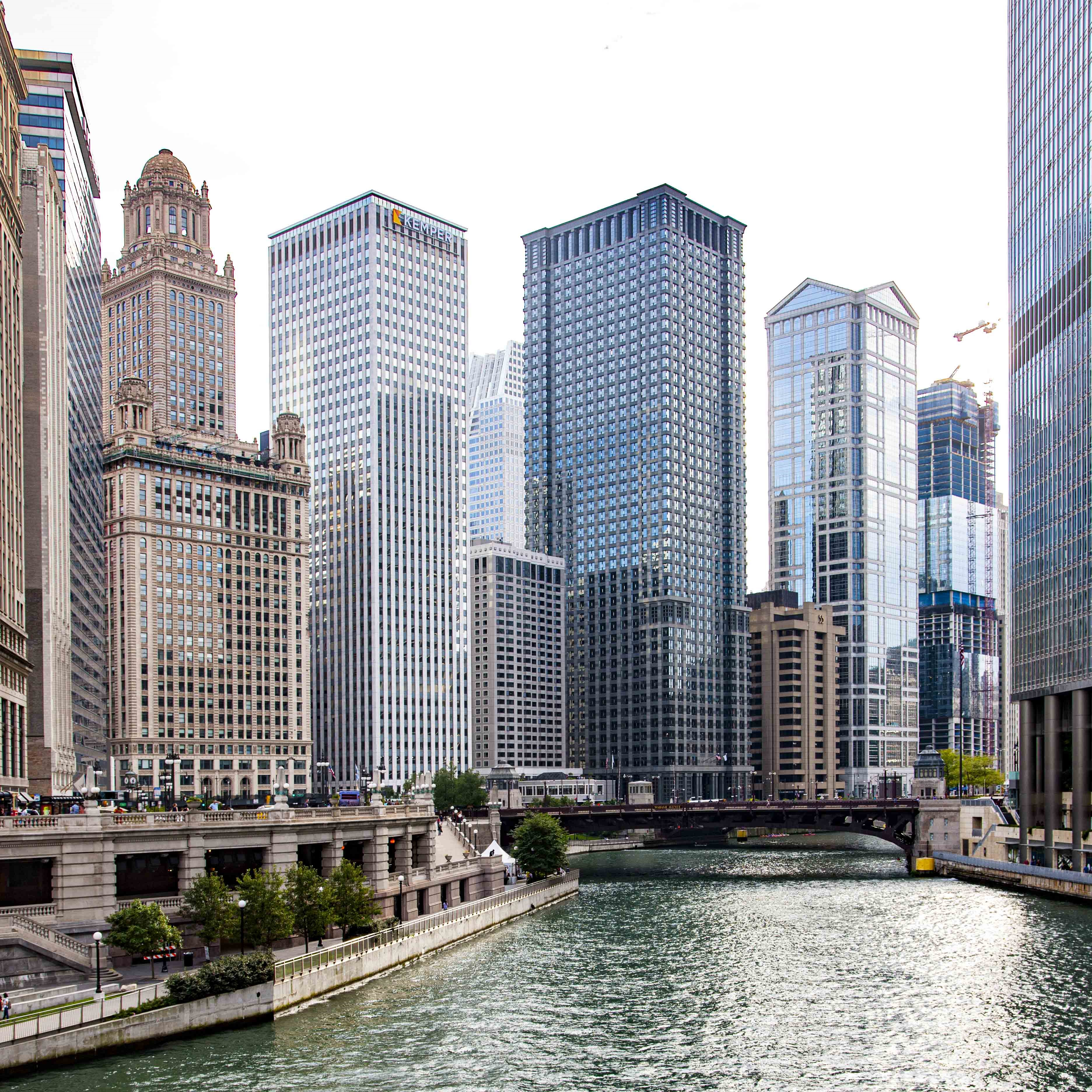 The Chicago River (photograph by Alan Ainsworth)
