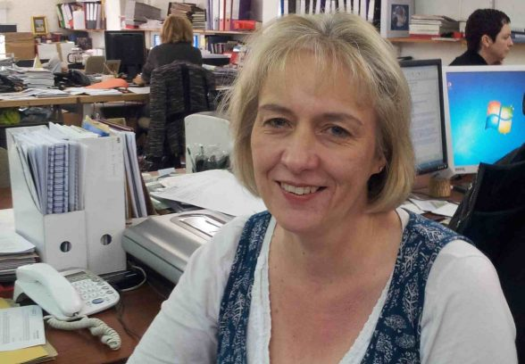 Clare Price, C20 Caseworker