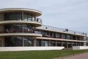De la Warr Pavilion, Bexhill-on-Sea, designed by Erich Mendelsohn and Serge Chermayeff, engineer Felix Samuely