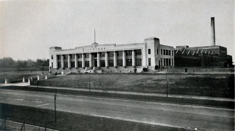 1928: Firestone Factory, Brentford – The Twentieth Century Society
