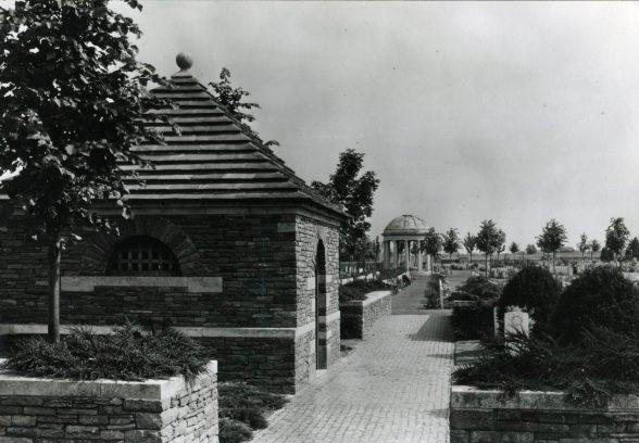 Bedford House Cemetery, Ieper, Belgium by Gavin Stamp