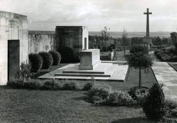Corbie Communal Cemetery by Gavin Stamp