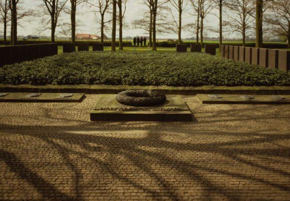 Langemark German Military Cemetery, Belgium, by Gavin Stamp