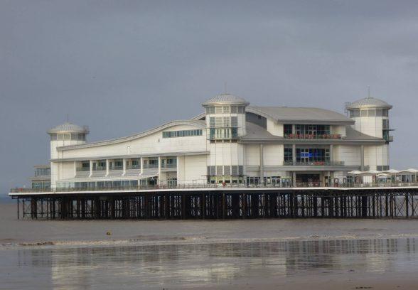 Grand Pier Weston Super Mare, Somerset