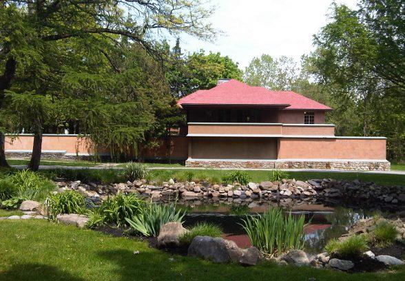 Graycliff Estate, Frank Lloyd Wright, Chauffeurs house