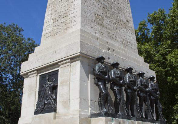Guards Division Memorial, London Photo © Sarah J Duncan