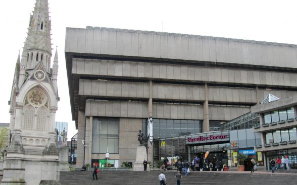 Birmingham Central Library by John Madin