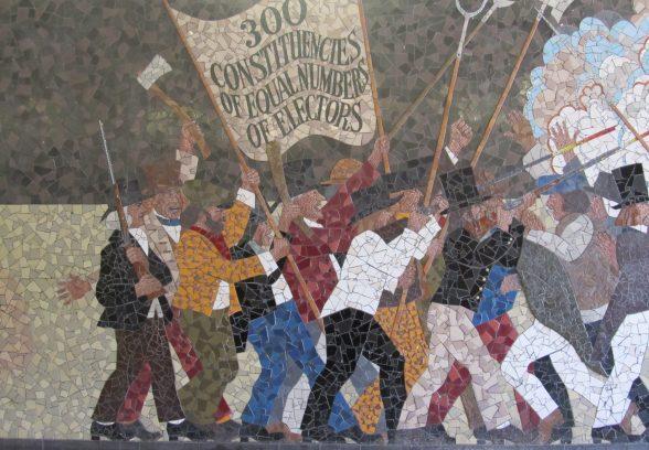 Chartist mosaic