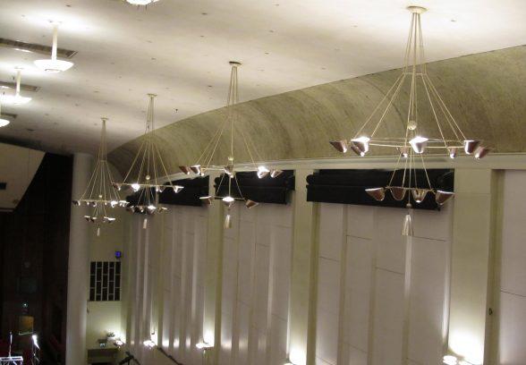 Ceiling of Colston Hall, Bristol