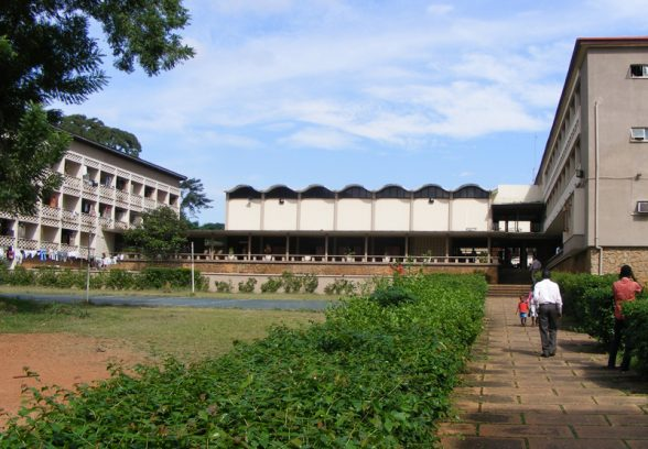 Mellanby Hall, hall of residence, dining Hall, University of Ibadan, Nigeria, Maxwell Fry and Jane Drew, 1958