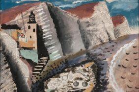 John Piper Beach and Star Fish, Seven Sister's Cliff