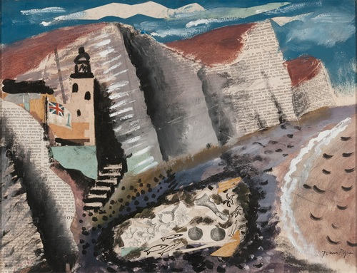 John Piper Beach and Star Fish, Seven Sister's Cliff