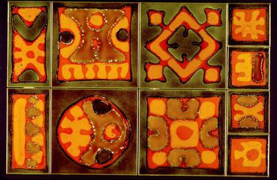 ||||King Alfred School tiles