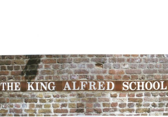 King Alfred School tiles